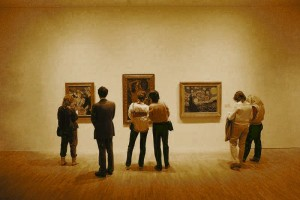 Art Gallery (sepia)