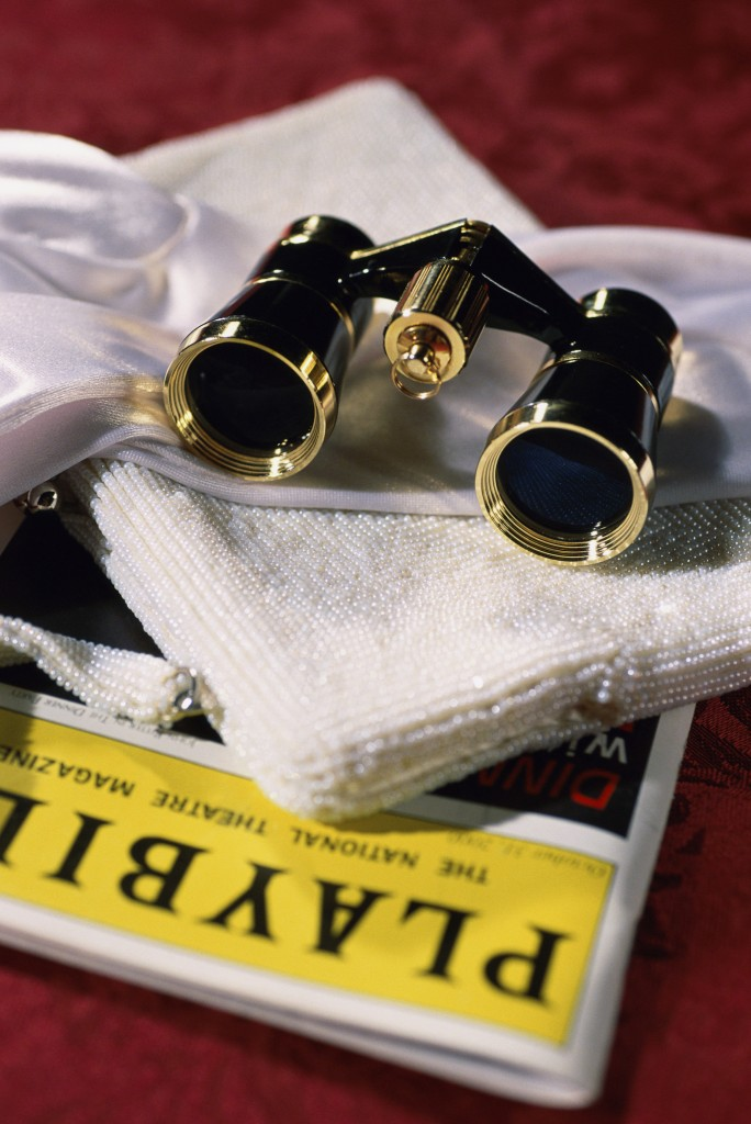 Opera Glasses and Playbill